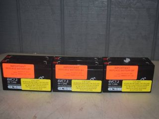 3 Batteries 6V