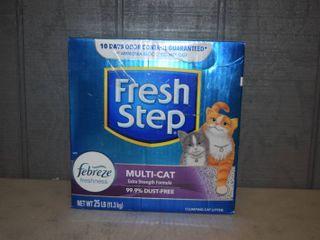 25 Pounds Fresh Step Cat litter