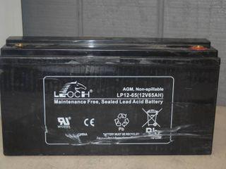leoch Non Spillable Battery