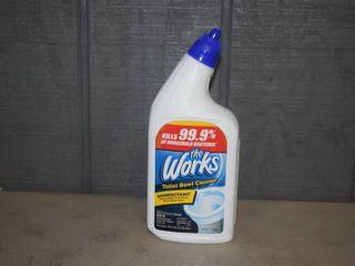 10 Bottles The Works Toilet Bowl Cleaner