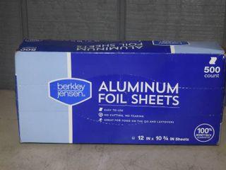 500 Aluminum Foil Sheets