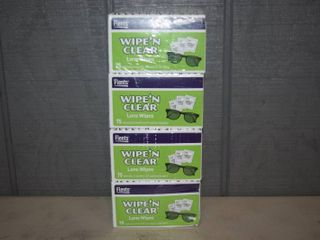300 Flents Wipe  n Clear lens Wipes