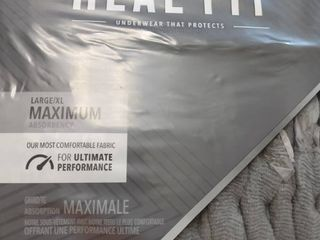 Depend Real Fit Incontinence Underwear for Men  Maximum Absorbency  l Xl Gray   26 Count
