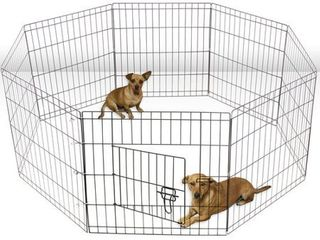 Paws   Pals large Hammigrid Wire Folding 8 Panel Pop Up Kennel  2018 Design