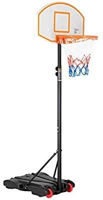Portable Basketball Hoop Goal Basketball System Stand for Kids Youth Junior Outdoor Indoor