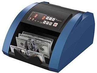 CARNATION USA Bill Money Counter with UV and Magnetic Counterfeit Detection   with Free Counterfeit Detector Pens