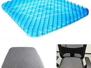 Gel Cushion   Premium Gel Seat Cushion with Non Slip and Breathable Hollow Design