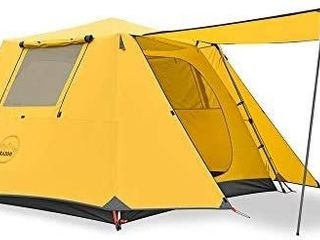 KAZOO Family Camping Tent large Waterproof Pop Up Tents 4 6 8 Person Room Cabin Tent