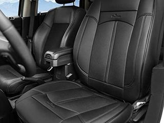 KINGlETING Car Seat Covers Universal Fit Breathable PU leather Non Slip Seat Protector