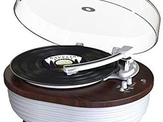 Record Player  Vintage 2 Speed Bluetooth Turntable with Built in Stereo Speaker