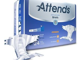 Attends Advanced Adult Incontinence Brief Heavy Absorbency