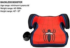 Booster Car Seat  Marvel Spider Man