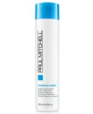 Paul Mitchell Shampoo Three  Removes Chlorine and Impurities  33 8 ounce