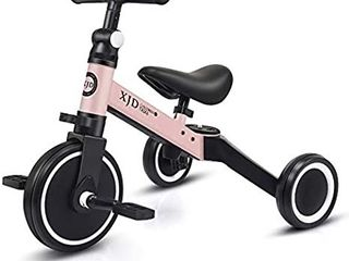 XJD 3 in 1 Kids Tricycles for 1 3 Years Old Kids Trike