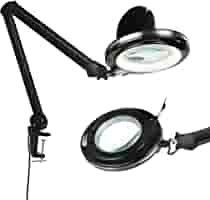 Brightech lightView Pro Magnifying lamp   Table Clamp