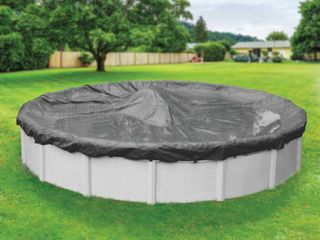 Robelle 20 Year Ultimate Round Winter Pool Cover  15 ft  Pool