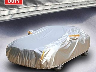 Tecoom Heavy Duty Multiple layers Car Cover All Weather