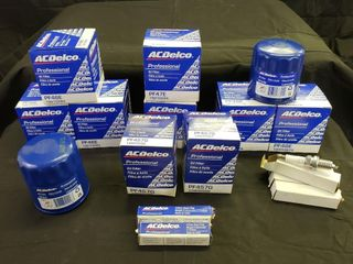 ACDelco Assortment   Filters   Plugs