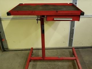 Sunex Adjustable Work Table with Drawer