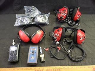Racing Electronics NASCAR Headphone Set