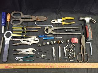 Vise Grips   Hex Bits   Tool Assortmant