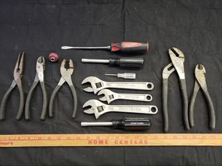 Craftsman Assorted Hand Tools   13pc