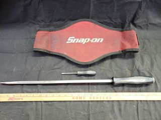 SnapOn Pry Bar  Driver   Back Support