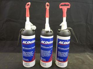 ACDelco RTV Silicone Sealant   NEW   3pc