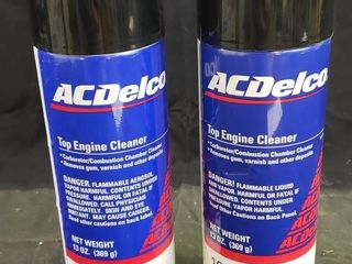 ACDElCO Engine Cleaner   NEW   2pc
