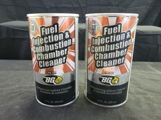 BG Fuel Injection   Combustion Chamber Cleaner 2pc
