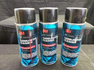 3M Carburetor Cleaner   NEW   3pc