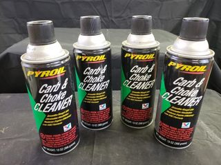 Pyroil Carb   Choke Cleaner   SEE DESCRIPTION