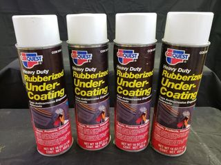 CarQuest Rubberized Under Coating   NEW   4pc
