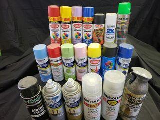 Assorted Paint Cans   SEE DESCRIPTION