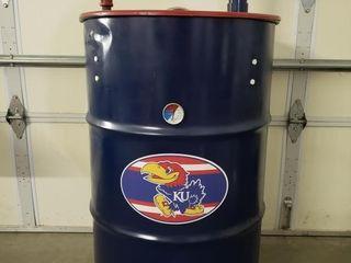 Ugly Drum Kansas Jayhawks Smoker