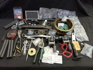 Assorted Hardware   Pry Bars  Cutters  Stripping