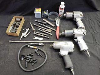MAC Air Wrenches   Air Hammer Attachments