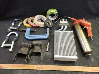 Misc   Heater Core  Air Grease Gun  Tape