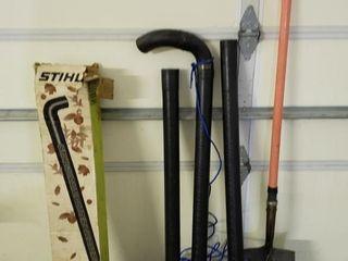Stihl Gutter Cleaner Blower Extension   Shovel