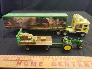 John Deere Hay Wagon Thomas KinKade Semi