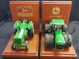 John Deere Bookends Danbury Mint