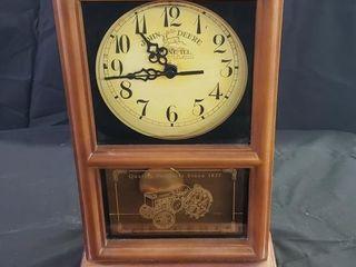 John Deere Pendulum Mantle Clock