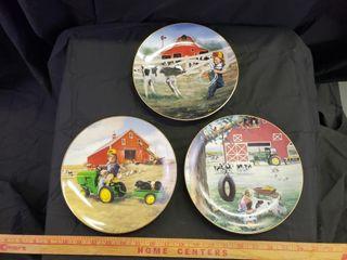 John Deere little Farmhands Danbury Mint