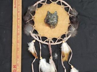 Wolf Head Dream Catcher