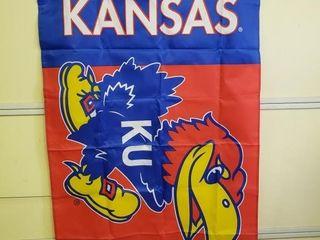 Kansas Jayhawks Flag   Banner