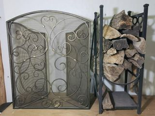 Firewood  Stand  Tools   Screen