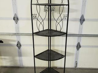 Metal Corner Shelf   Collapsable