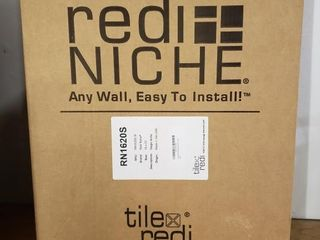 Redi Neich Wall Shelf Inserts  NEW   3pc