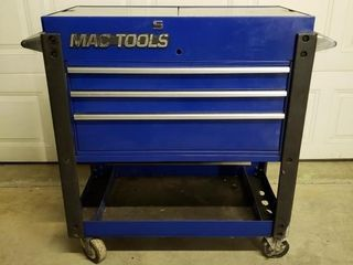 Mac Tools Deluxe 3 Drawer Utility Cart MB197UC