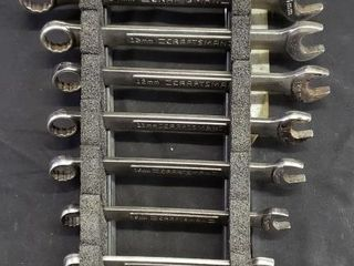 Craftsman Metric Combo Wrenches   10pc